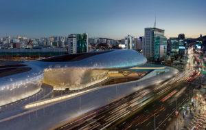 Dongdaemun Design Plaza / Zaha Hadid