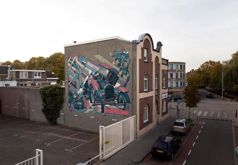 Collapse, Aryz. 2016, Heerlen, Hollanda