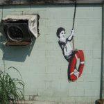 Swinger, Banksy. 2008, New Orleans, ABD